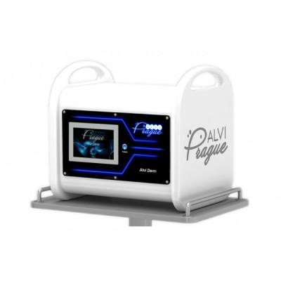Apparatus for vacuum hydro-peeling with simultaneous diamond dermabrasion Alvi Derm