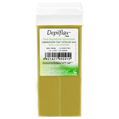 DEPILFLAX 100 DEPILATION WAX NATURAL ROLL 110g