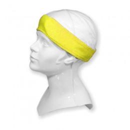 YELLOW Terry headband No. 6