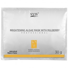 SYIS BRIGHTENING ALGAE MASK WITH PEAR OFF EXTRACT PEEL OFF 30G
