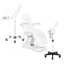 SET ELECTRIC SEAT. LUX + WAPOZON JY10 + LAMP LUPA LED S5