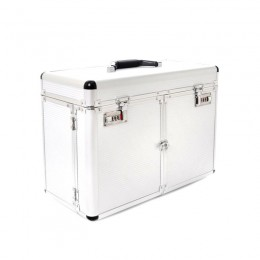 COSMETIC CASE S - LARGE SILVER