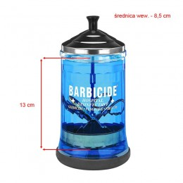 BARBICIDE Glass container for disinfection 750ml