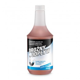 BARBICIDE WAY OUTLET Liquid for clearing drains in cosmetics and hairdressing salons 1000ml
