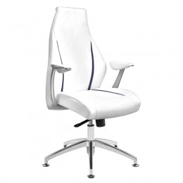 COSMETIC ARMCHAIR RICO 206 WHITE