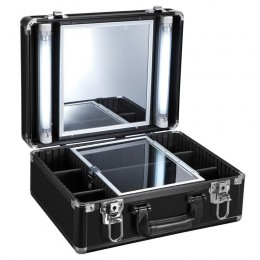 BEAUTY CASE GLAMOR 9500K BLACK (MOBILE STATION)