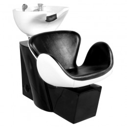 GABBIANO AMSTERDAM BLACK AND WHITE HAIR WASHER