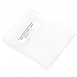 DISPOSABLE PERFORATED TREATMENTS, 100 PCS 15X20 CM WHITE