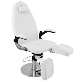 AZDURRO HYDRAULIC PODOLOGICAL ARMCHAIR WHITE