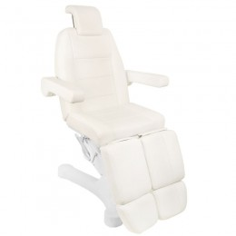 ELECTRIC COSMETIC ARMCHAIR. A-207C PEDI WHITE / IVORY (5 ENGINES)