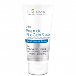 BIELENDA 2 in 1 Enzymatic fine-grained face peeling with papain and bromelain 150g