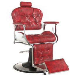 GABBIANO BARBER ARMCHAIR RED PREMIER