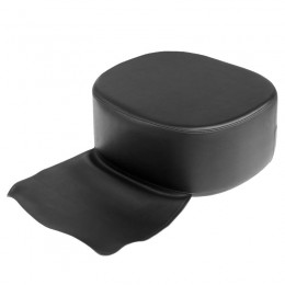 CHILDREN'S SEAT FOR STRONG HAIRDRESSING CHAIR. BLACK