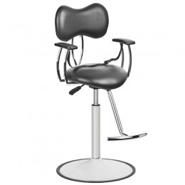 GABBIANO HAIRDRESSING CHAIR FOR CHILD BLACK