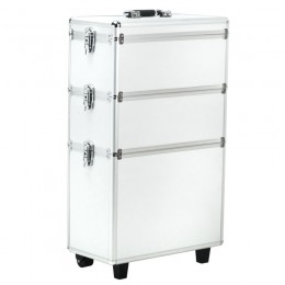 COSMETIC CASE S-013 SILVER