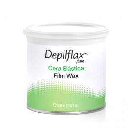 DEPILFLAX 100 FLEXIBLE WAX FOR WAIL DEPILATION 500ML NATURAL