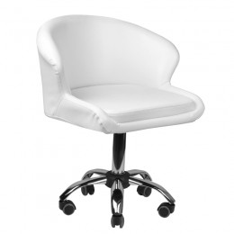COSMETIC CHAIR WHITE LADY