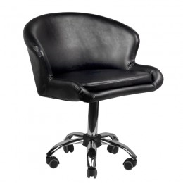 COSMETIC CHAIR BLACK LADY