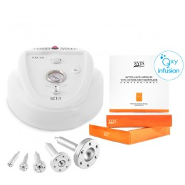 AM60 MICRODERMABRASION DEVICE + CELLULOGY + SYIS COSMETICS