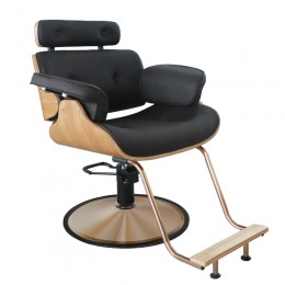 GABBIANO HAIRDRESSING CHAIR BLACK FLORENCE