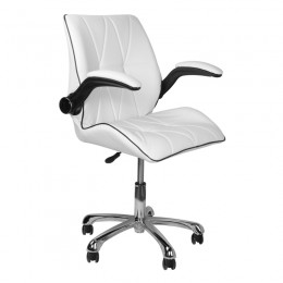 COSMETIC CHAIR 239B WHITE