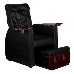 SPA CHAIR FOR PEDICURE WITH BACK MASSAGE AZZURRO 101 BLACK