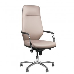 RICO 711A COSMETIC ARMCHAIR FOR PEDICURE AND MAKEUP LIGHT GRAY