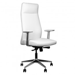 RICO 716A COSMETIC ARMCHAIR FOR PEDICURE AND MAKEUP WHITE