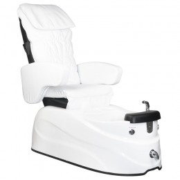 ARMCHAIR PEDICURE SPA AS-122 WHITE WITH MASSAGE FUNCTION