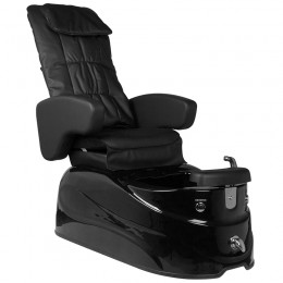 ARMCHAIR PEDICURE SPA AS-122 BLACK WITH MASSAGE FUNCTION
