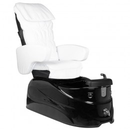 ARMCHAIR PEDICURE SPA AS-122 WHITE-BLACK WITH MASSAGE FUNCTION