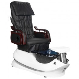 ARMCHAIR PEDICURE SPA AS-261 BLACK AND WHITE WITH MASSAGE FUNCTION