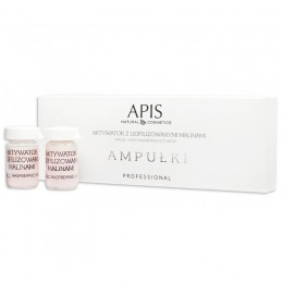 APIS AMPOULES Activator with freeze-dried raspberries 5 pcs