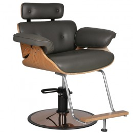 GABBIANO HAIRDRESSING CHAIR FLORENCE GRAY