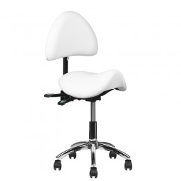 COSMETIC STOOL 249A WHITE