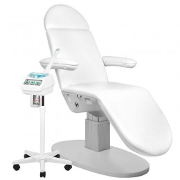 ELECTRIC COSMETIC ARMCHAIR. ECLIPSE 3 POWER WHITE + WAPOSON 2103 FREE